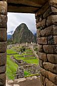 'The Historic Lost City Of Inca Machu Picchu; Peru'