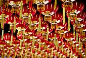 'Rows Of Chinese Lanterns; Penang Malaysia'