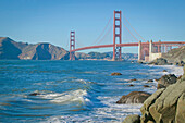 'Golden Gate Bridge From Baker Beach; San Francisco, California, United States of America'