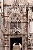 'Porta Della Carta Gate To The Doge's Palace; Venice Italy'