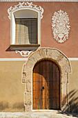 'Main Entrance To 12Th Century Santes Creus Monastery; Aiguamurcia, Spain'
