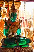 'Emerald Buddha At Doi Suteph Temple; Chiang Mai, Thailand'