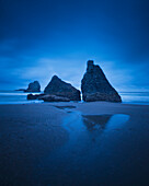 'Rock Formations Along The Coast Of The Pacific Ocean; Bandon, Oregon, United States of America'
