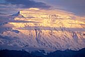 Denali Summit, Wickersham Wall, Denali National Park, Alaska, Usa