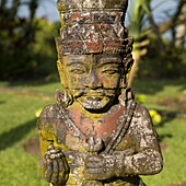 'Hindu Statue, Tanah Lot Sea Temple; Bali, Indonesia'