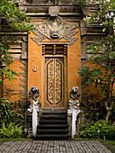 'Ubud, Bali, Indonesia; Temple Entrance'