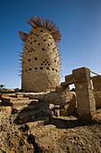 A Mud Brick Pigeon House, Siwa Oasis, Egypt
