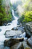 Reid Falls, Alaska, Usa