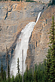 The Takakaw Falls Of Yoho National Park, British Columbia, Canada