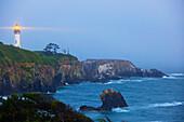 'Yaquina Head Lighthouse; Newport, Oregon, United States of America'