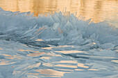 'Chunks Of Ice On The North Shores Of Lake Superior; Grand Portage, Minnesota, United States of America'