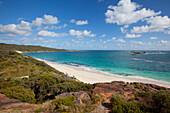 'White Sand Beach; Cosy Corner, Western Australia, Australia'