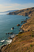 'Hills Along The Coastline; San Francisco, California, United States of America'