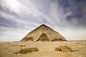 'The Bent Pyramid; Dashur, Egypt'