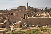 'Temples Of Karnak On The East Bank Of Luxor Along The Nile River; Luxor, Egypt'