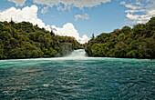 'Huka Falls; Taupo, New Zealand'