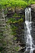Waterfall On Sloan's Brook, Delap's Cove Wilderness Trail, Nova Scotia, Canada