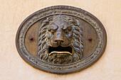 'Post Box With A Lion's Open Mouth; Cuenca, Castile La Mancha, Spain'