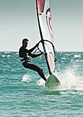 'Windsurfing; Tarifa, Cadiz, Andalusia, Spain'