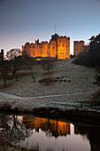 'Alnwick Castle; Alnwick, Northumberland, England'