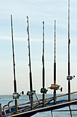 'Five Fishing Poles In A Row; Sayulita, Mexico'