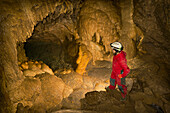 'Caving In The Rocky Mountains; Canmore, Alberta, Canada'