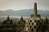 'Borobudur Temple; Magelang, Central Java, Indonesia'