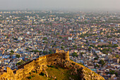 'Amer Fort And The Cityscape; Jaipur, Rajasthan, India'