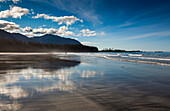 'The Sandy Beach At Rugged Point Marine Park On The West Coast Of Vancouver Island; British Columbia, Canada'