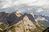 'Rugged peaks of the canadian rocky mountains;Banff alberta canada'