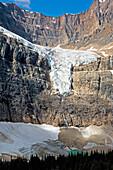'Angel glacier;Alberta canada'