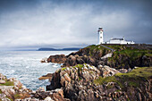 'Fanad head lighthouse standing on the dramatic county donegal coastline;Northwest ireland'
