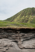 'Mountain strata along south shore drive;Oahu hawaii united states of america'