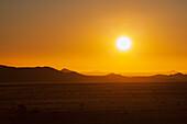 'Desert sunset;Klein-aus vista namibia'