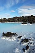 'Blue Lagoon And Geothermal Spa; Grindavik, Reykjanes, Iceland'