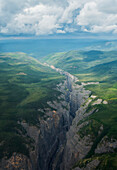 'Scimitar Canyon, Nahanni National Park; Northwest Territories, Canada'