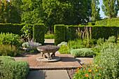 Orchard Garden, Sissinghurst Castle Gardens, Kent, Great Britain
