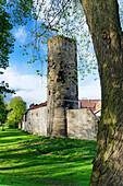 City Wall, Einbeck, Lower Saxony, Germany