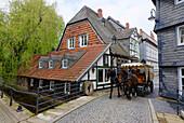 Horse-Drawn Carriage, Worth Mill, Goslar, Lower Saxony, Germany