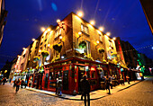 Bars and Pubs, In the Temple Bar quarter, Dublin, Ireland