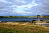 Ireland Irish Western Europe travel destinations Landscape nature Architecture building sea seascape water Poulnabrone dolmen The Burren Clare county tower