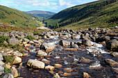 Ireland Irish Western Europe travel destinations Landscape nature Mountain Wicklow mountains Dublin river flow water