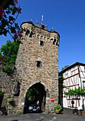 Stadttor in Ahrweiler im Ahrtal, Eifel, Rheinland-Pfalz, Deutschland