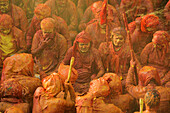 Celebrations with colours, during Holi Festival, India