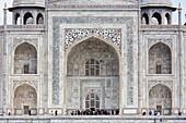 The principal entrance of Taj Mahal, India