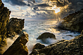 In the midst of the rocks, Varazze, Liguria