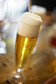 A Tipopils is served at the Birrificio Italiano near Como, Italy. Artisanal beers of Italy, aiming for gourmet status, are carving out a niche in what is traditional wine country.