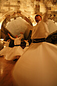 Whirling Dervishes: Sema Whirling dervishes ceremony, is the inspiration of Mevlana Celaleddin-i Rumi as well as part of the Turkish culture, belief and history in Konya. It symbolizes the different meanings of a mystic cycle.