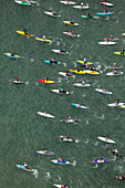 Battle Of the Paddle, Dana Point CA Aerials