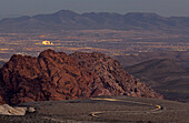 The ever expanding city of Las Vegas is getting very close to Red Rock Canyon National Conservation Area.
